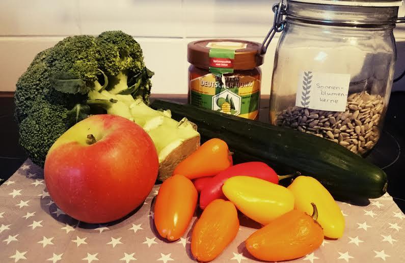 Brokkoli Salat Zutaten