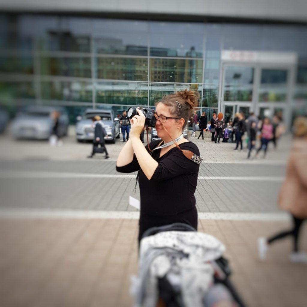 Perlenmama, Frankfurter Buchmesse, Fotografieren