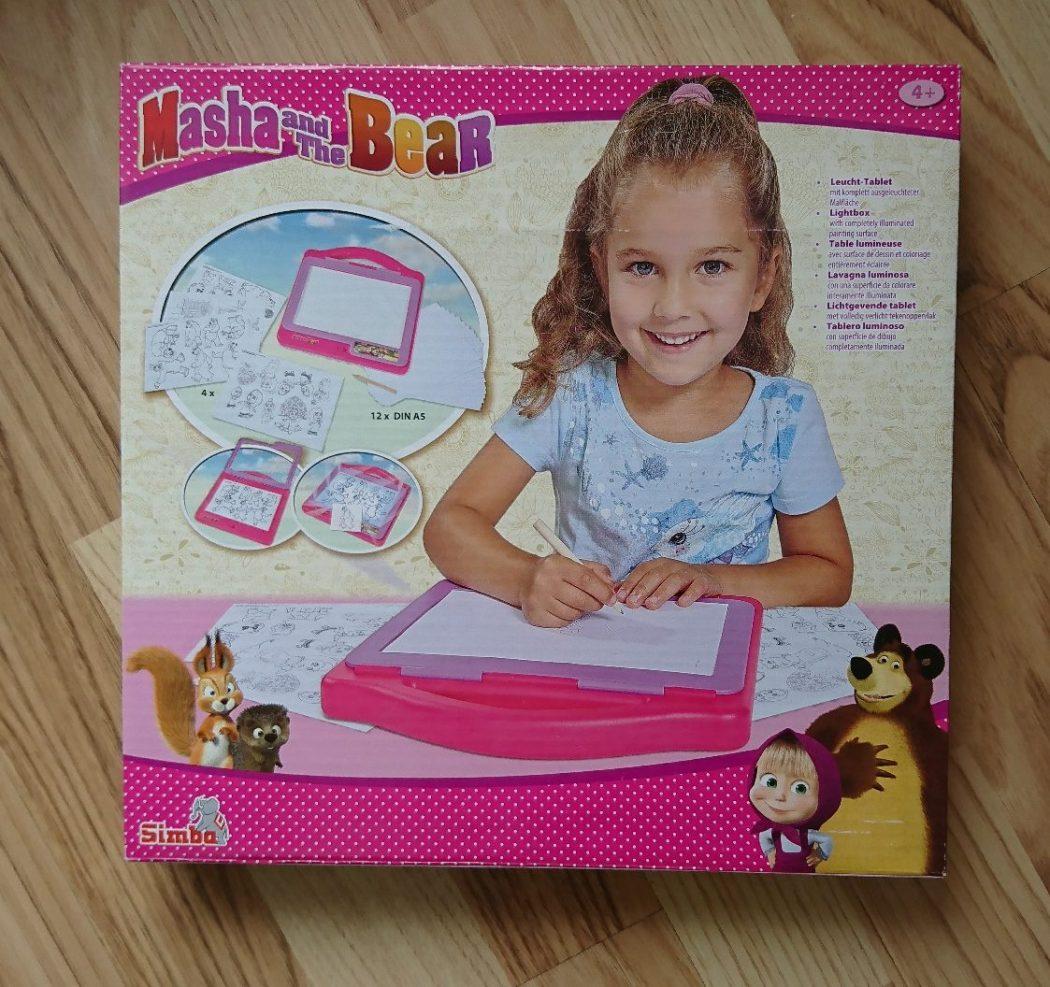 Light Tablet, Masha und der Bär, Kreativ, Zeichnen, Abpausen