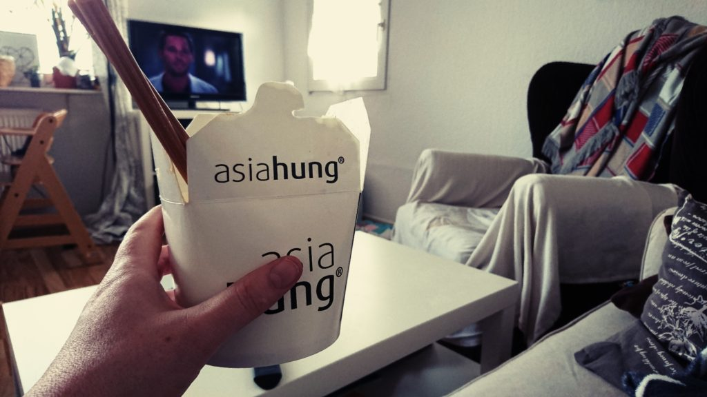 Wochenende in Bildern, WIB, Perlenmama, Asian food, Essen, Greys Anatomy, Prime
