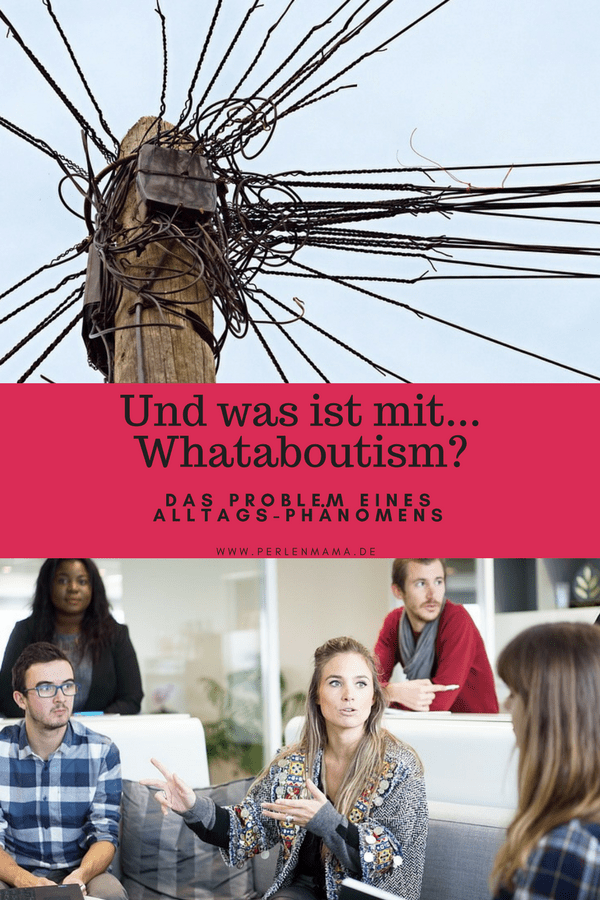 Whataboutism, Perlenmama, Debatte
