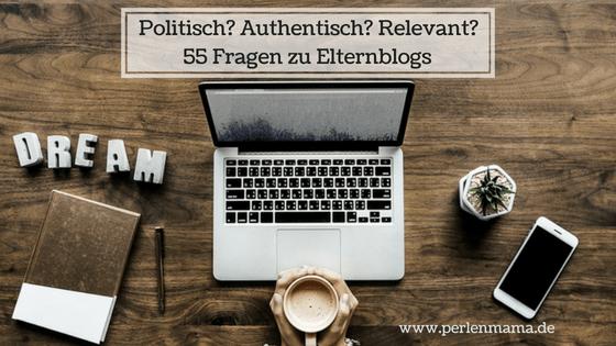 Elternblogs Perlenmama 55 Fragen