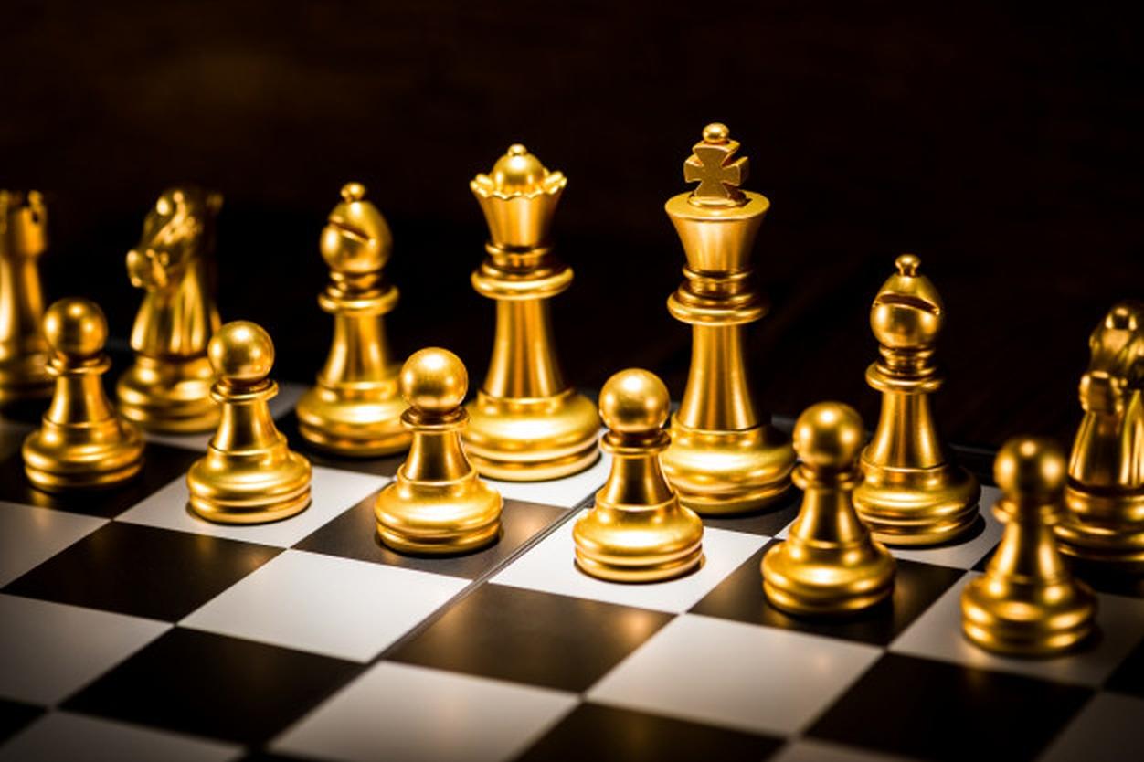 Großmeister werden, ein Kilo Gold gewinnen