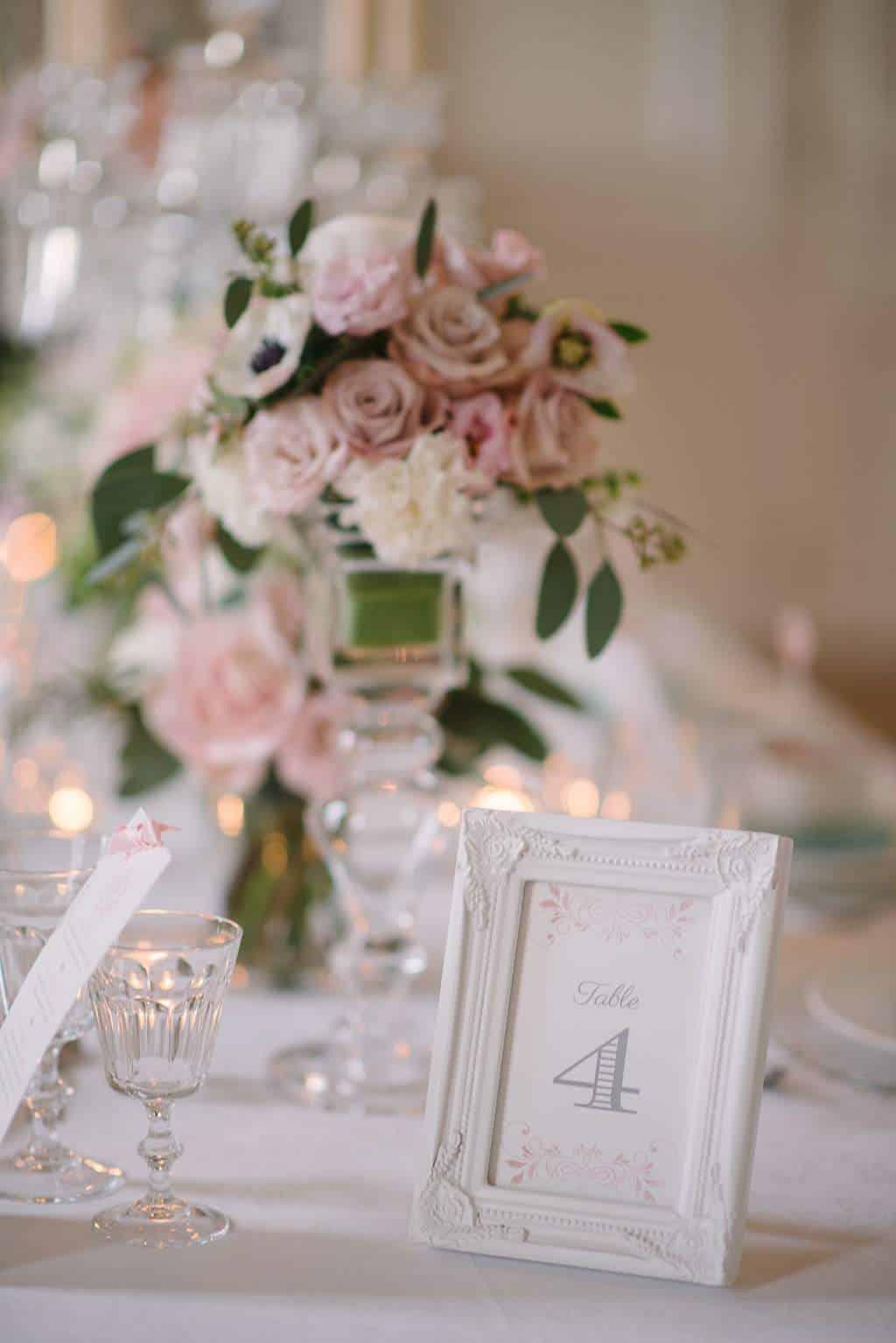 Une Dcoration De Mariage Romantique Et Chic Avec Une