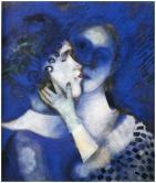 Chagall - 1914 - Les amants bleus - collection privée