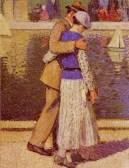 Henri Jean Guillaume Martin - Un couple d'amoureux, 1933