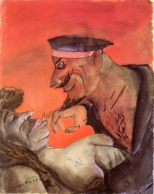 Otto Dix - Matelot et fille 1923