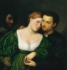 Paris Bordone - Couple vénitien
