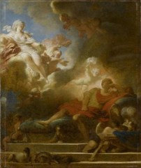 Fragonard - Songe d'amour du guerrier - Louvre