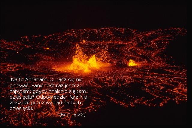 Bóg jest nieskory do gniewu, ale jego cierpliwość nie trwa wiecznie