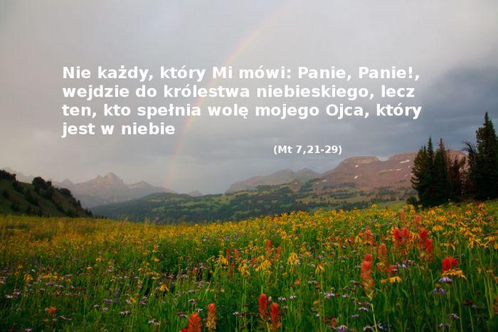Kiedy Jezus powie: Odejdźcie ode Mnie wy, którzy dopuszczacie się nieprawości!
