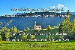 Bóg wszechmogący jest po trzykroć święty