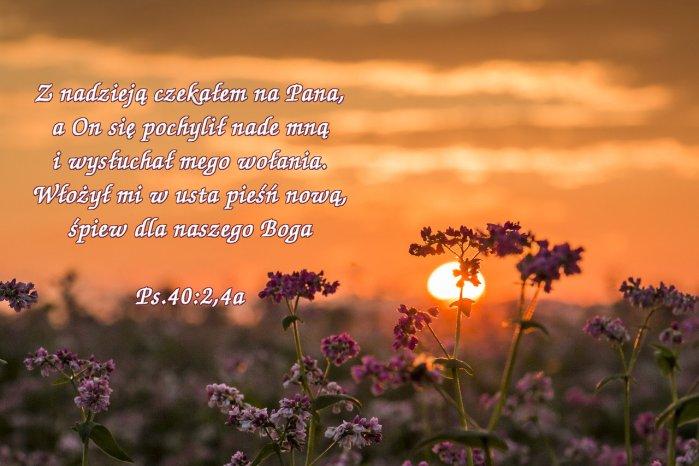 Ustanowię cię światłością dla pogan, aby moje zbawienie dotarło aż do krańców ziemi