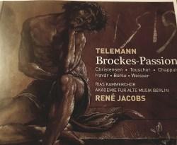 Pasja według Brockesa. Arcydzieło Telemanna