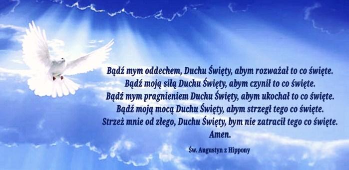Modlitwa św. Augustyna do Ducha Świętego