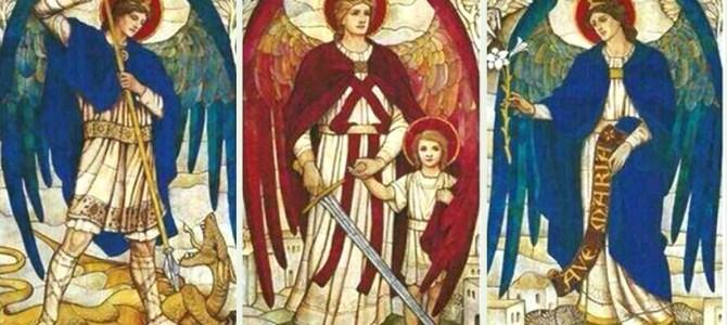 Wspólnota modlących się  #InwokacjaKrólujNam ma swoich patronów –  świętych archaniołów