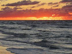 Magiczne zachody słońca nad Bałtykiem