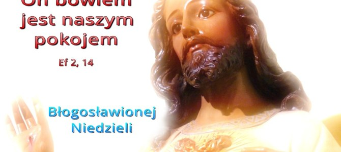 Jezus naszym pokojem (BŁ)