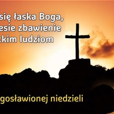 Ukazała się łaska Boga, która niesie zbawienie wszystkim ludziom.