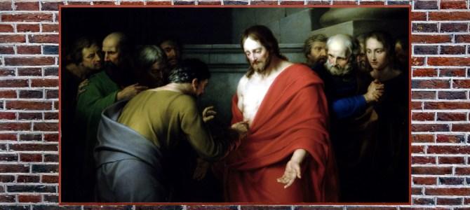 """Tomasz Mu odpowiedział: """"Pan mój i Bóg mój!"""