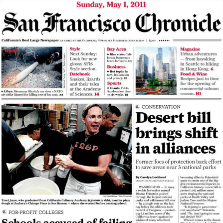 PERM Advertising San Francisco Chronicle