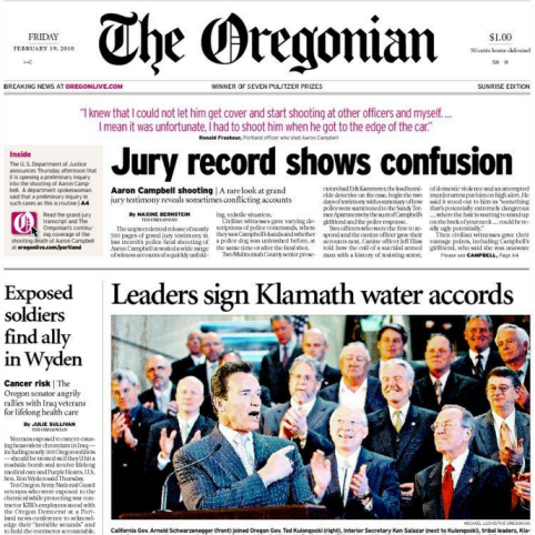 PERM Advertising The Oregonian