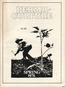Copertina della rivista Permaculture primavera 1978
