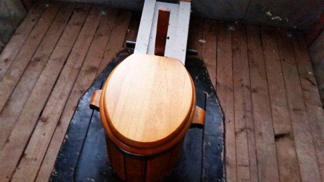 compost toilet autcostruito
