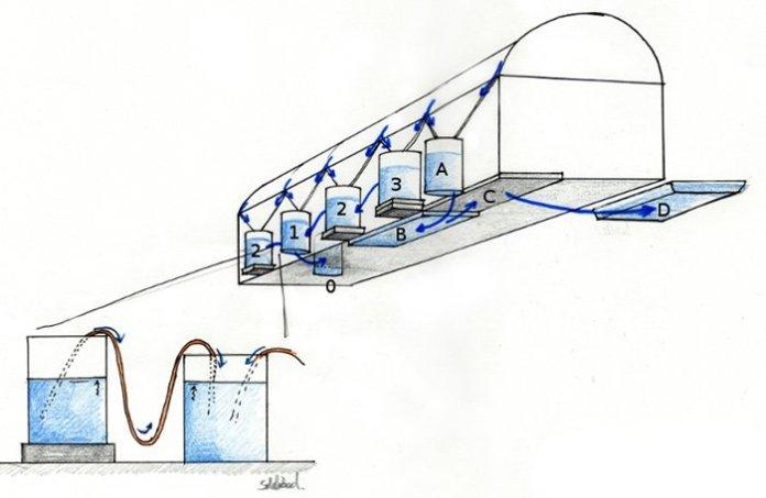 barili raccolta acqua permacultura