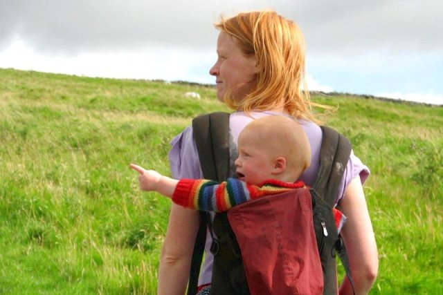 Genitori permacultura scozia Lusi Alderslowe