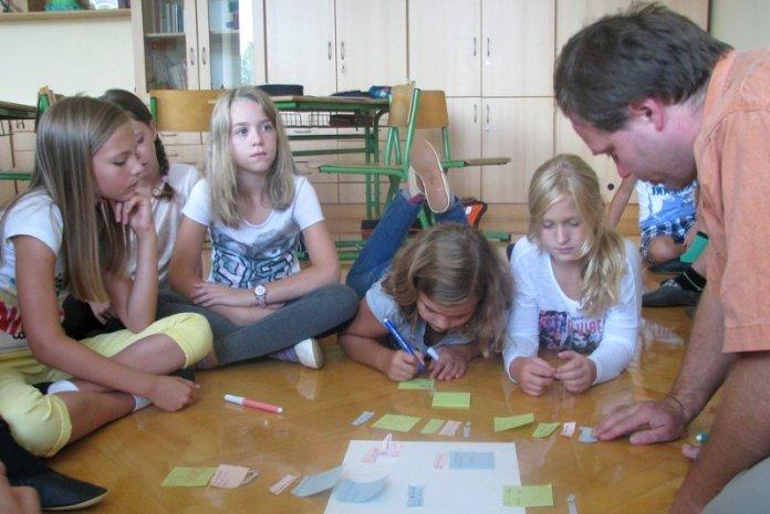 permacultura bambini scuola dragon dreaming