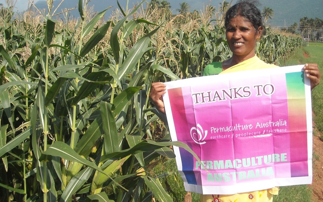Permafund micro-grant supports seed bank in India