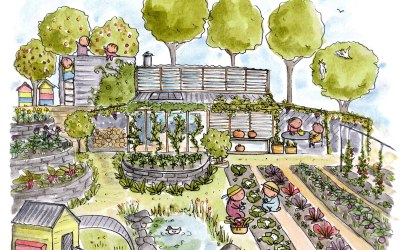 Northey Street City Farm – host of the 2021 APC