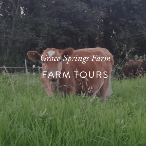 Grace Spring Farms tour ticket