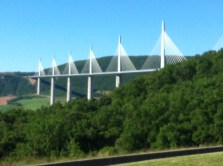 The famous Millau viaduct