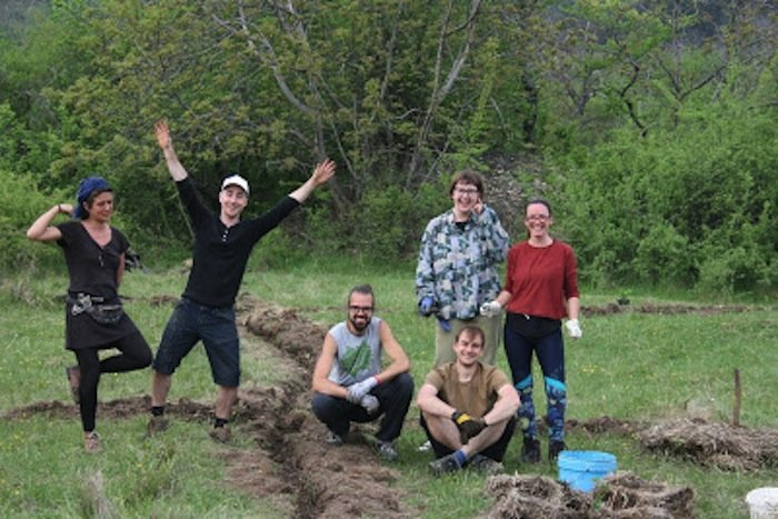 Kursteilnehmer des Balkan-Ökologiekurses