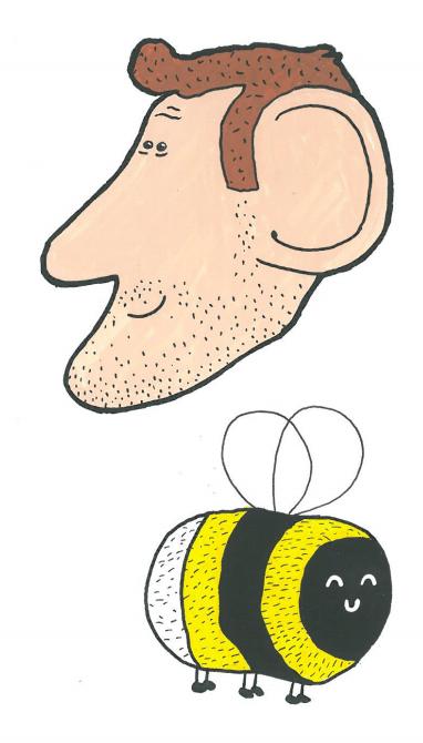 Wally Merrins & Bee