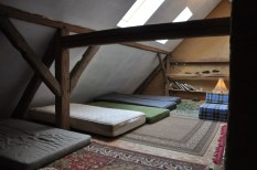 U Jurka - nocleg na strychu stodoły