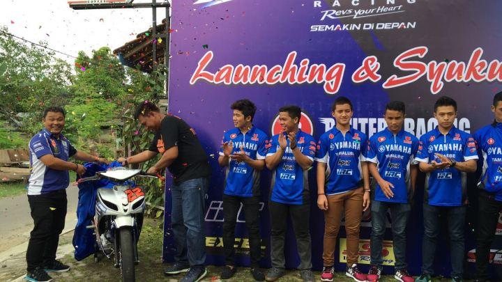 Launching Team Motoprix & IRS Yamaha Bahtera Racing Team