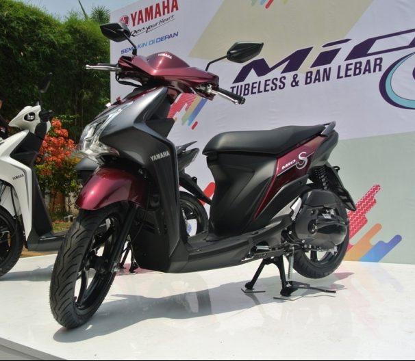 Ukuran Ban Yamaha Mio S Lebar Banget.. Juga Menggunakan Velg Khusus Untuk Ban Tubeless Loh!