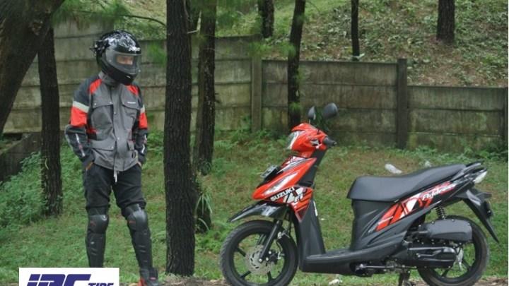 Vlog Test Ride Suzuki Address: Siksa Address Panas-Hujan, Jalan Mulus-Rusak, Turun-Nanjak-Belok Sampai Puas!