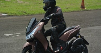Foto Test Ride Yamaha Lexi 125