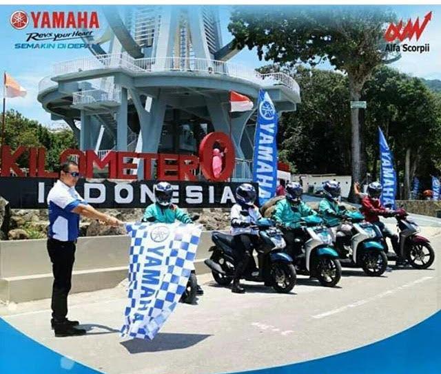Touring Nonstop Yamaha Mio S