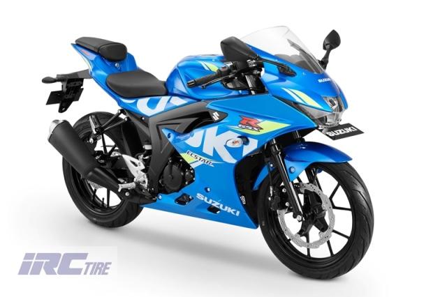 Warna Baru Suzuki GSX-R 150 Biru