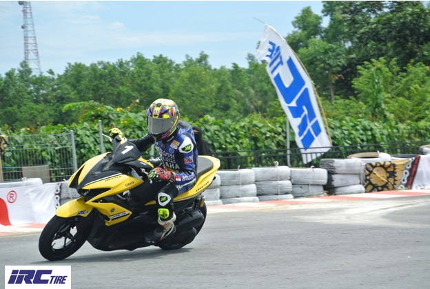 Ikut Balapan, Rider Bergelar Pangeran Seri Negara Jadi Juara Aerox 155 Cup Comunity Singkawang!