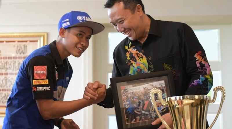 Menpora apresiasi kemenangan Galang Hendra