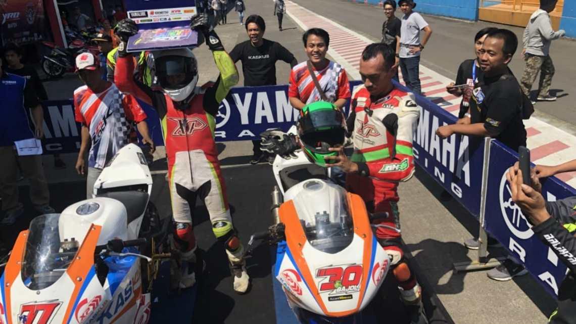 YSR 2018 Seri 3 Sport 250cc Comm Pro : Tak Diganggu Kadal, Rahmat Yulianto Raih Podium 1!