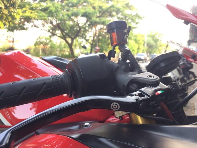 Modifikasi Honda CBR520RR Master Rem Radial Brembo