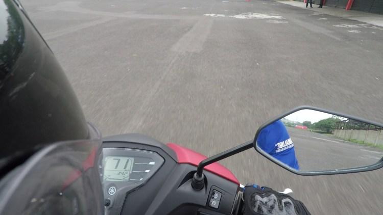 Top Speed Test Ride Yamaha FreeGo