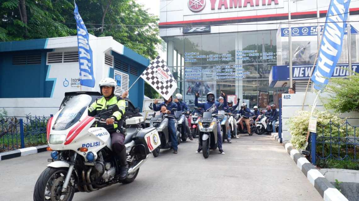 Komunitas Yamaha Lexi Kian Menjamur, Padahal Belum Lama di Launching